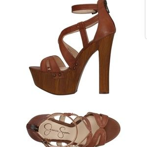 Brand New Leather Jessica Simpson Sandals Size 7.5